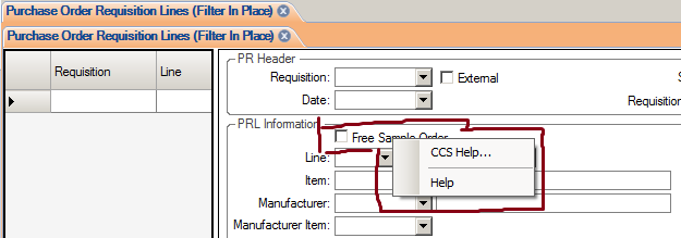SL right click help file linkage